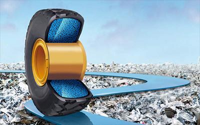 Reifenfüllungen für Baumaschinen-Reifen